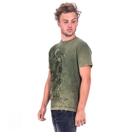 OVG Man's T-shirts Retro Stone Army