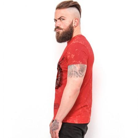 "AEA  Man's t-shirt"" Verminator"" vintage   Furious Red"