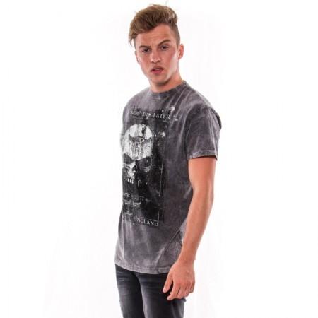 AEA Man's T-shirts   Birth of demon Arena Acero Grey