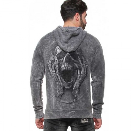 "AEA Man Hoodie ""The Scream"" Vintage Super Marlite"