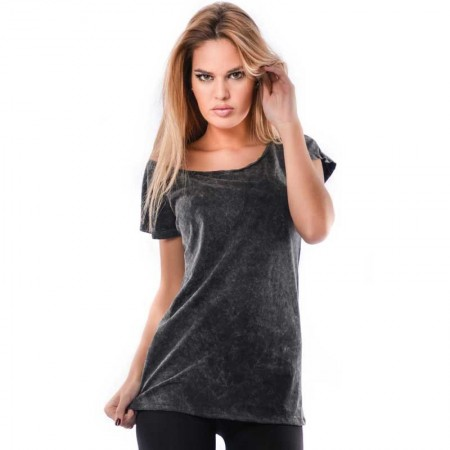 OVG Woman's Top MARYLIN Marlite Black