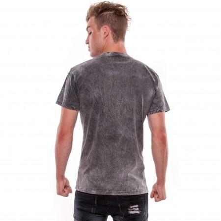 OV Man's T-shirts Arena Acero Grey
