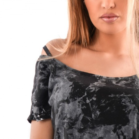 OVG Woman's Top MARYLIN Onix Black