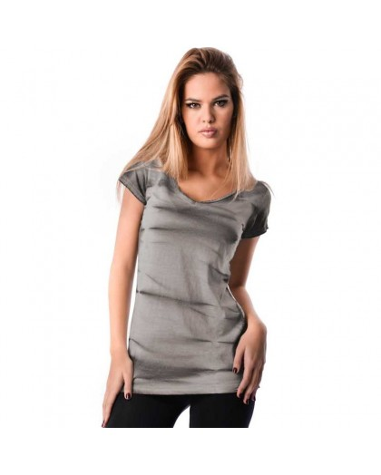 OV Woman's Top Sasha OV3 Perla Grey