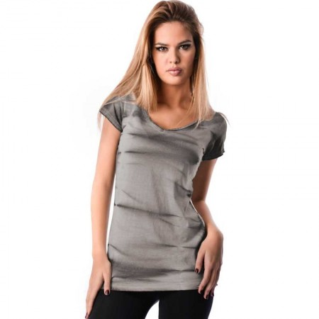 OV Woman's Top Sasha OV3 Perla Grey