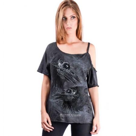 AEA Woman's Top Nicole  Eye for Eye batik Grey