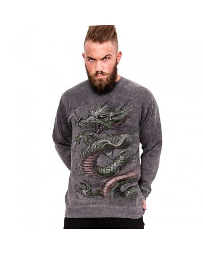 "AEA  Sweat-Shirt ""Chrounching Dragon"" Supermarlite"