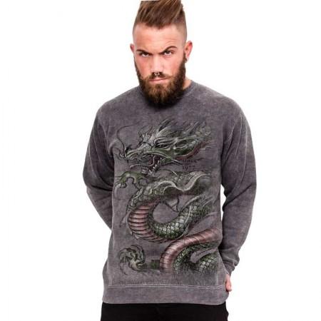 """AEA  Sweat-Shirt """"Chrounching Dragon"""" Supermarlite"""