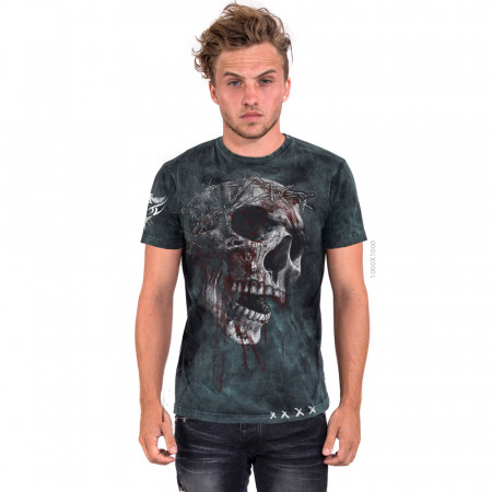 """AEA Man's T-shirts """"Bring Out your dead"""" Furious Blue"""