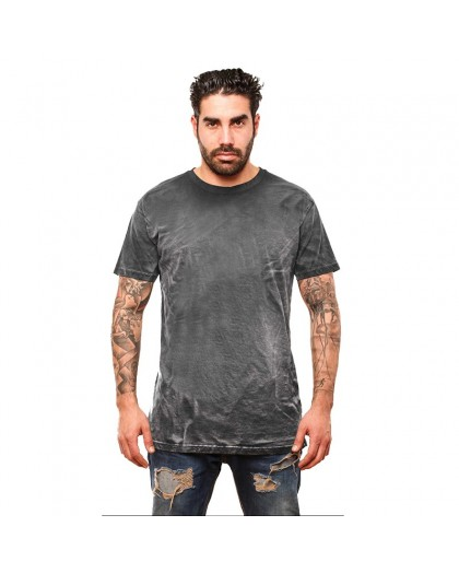 OVG Man's T-shirt Spray washed black
