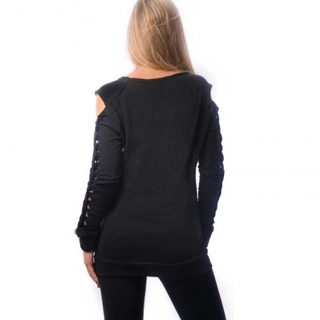OVG Woman's sweat shirt SEVILLA BLACK
