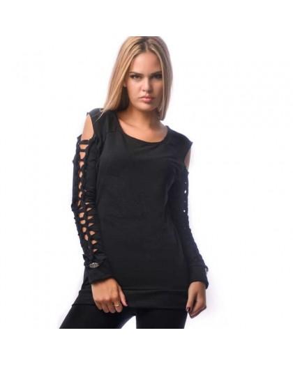 OVG Woman's sweat shirt SEVILLA BLACK