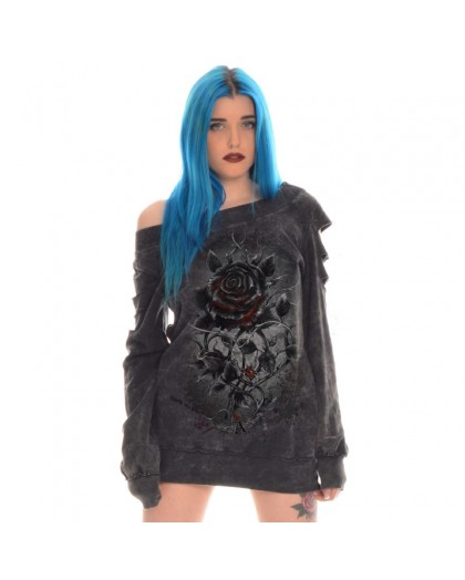 """AEA- Girlie  Custom Hoodie""""Roses nest""""   marlite"""