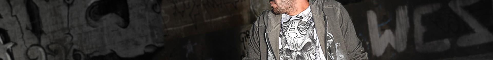 Washed man's sweatshirts & hoodies